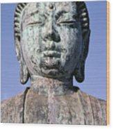 Lahaina, Buddha At Jodo  Wood Print