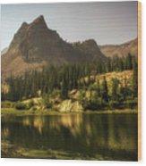Lake Blanche Wood Print