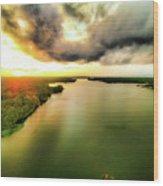 Lake Jordan Wood Print