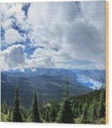 Lake Mcdonald From Mt Brown Trail - Glacier National Park Wood Print