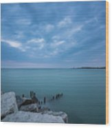 Lake Michigan Wood Print