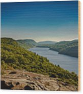Lake Of The Clouds Wood Print