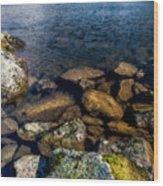 Lake Ogwen Wood Print