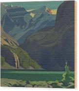 Lake O'hara Wood Print