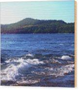 Lake Superior Landscape Wood Print