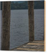 Lake Windermere Cumbria Wood Print