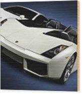 Lamborghini Super Cars Wood Print