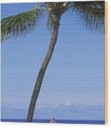 Lanai, Manele Bay Wood Print