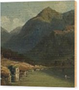 Landscape From Brienzersee Wood Print