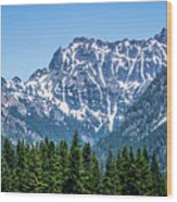 Landscape Nature Scenes Around Columbia River Washington State A Wood Print