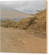Landscape Near Marsabit, Kenya Wood Print