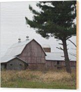 Large Barn Wood Print