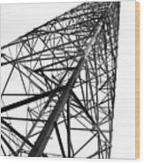 Large Powermast Wood Print