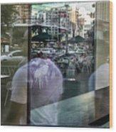 Las Vegas Strip 0312 Wood Print