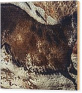 Lascaux: Horse Wood Print