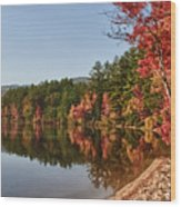 Late Afternoon On Lake Chocorua Wood Print