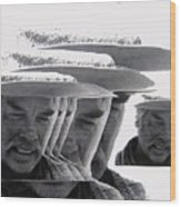 Lee Marvin Monte Walsh Variation 2 Old Tucson Arizona 1969-2012 Wood Print