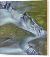 Letchworth Falls Sp Wolfe Creek Wood Print