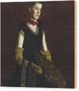 Letitia Wilson Jordan Wood Print
