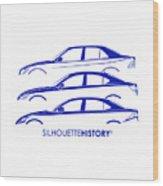 Lexury Silhouettehistory Wood Print