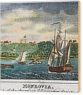 Liberia: Freed Slaves 1832 Wood Print