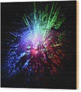 Light Burst-1 Wood Print