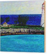 Lighthouse IIi Wood Print