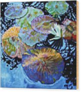 Lily Pad Palettes Wood Print