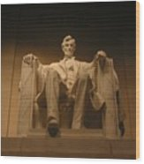 Lincoln Memorial Wood Print by Brian McDunn