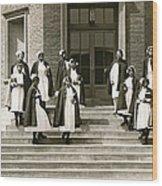 Lincoln School For Nurses Wood Print