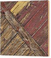 Linear Wood Print