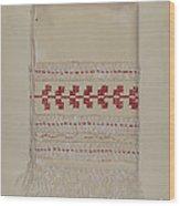 Linen Towel Wood Print