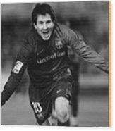 Lionel Messi 1 Wood Print
