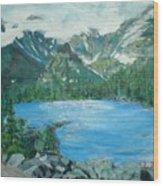 Little Grand Lake Wood Print