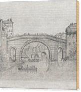 Liverpool Bridge Wood Print