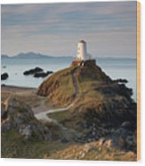 Twr Mawr Lighthouse On Llanddwyn Island Wood Print