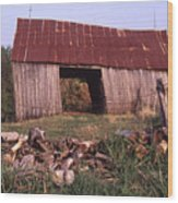 Lloyd Shanks Barn 4 Wood Print