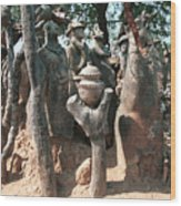 Lobi Country - Birifor 1988 Wood Print