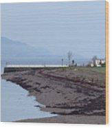Loch At Twilight Wood Print