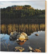Loch Lundie Wood Print