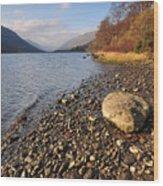 Loch Voil Wood Print