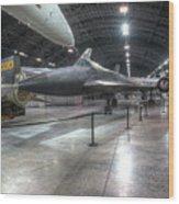 Lockheed, Yf-12a Wood Print