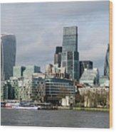 London City Wood Print