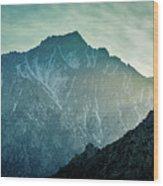 Lone Pine Peak Wood Print