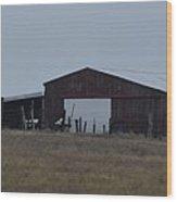Lonesome Barn 2 Wood Print