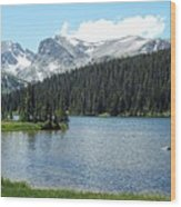 Long Lake Splender  Wood Print