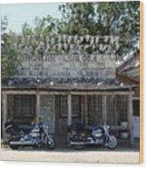Longhorn Saloon Wood Print