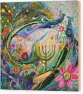Longing For Chagall Wood Print