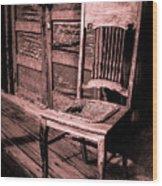 Loomis Ranch Chair Wood Print