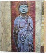 Lord Buddha  Wood Print